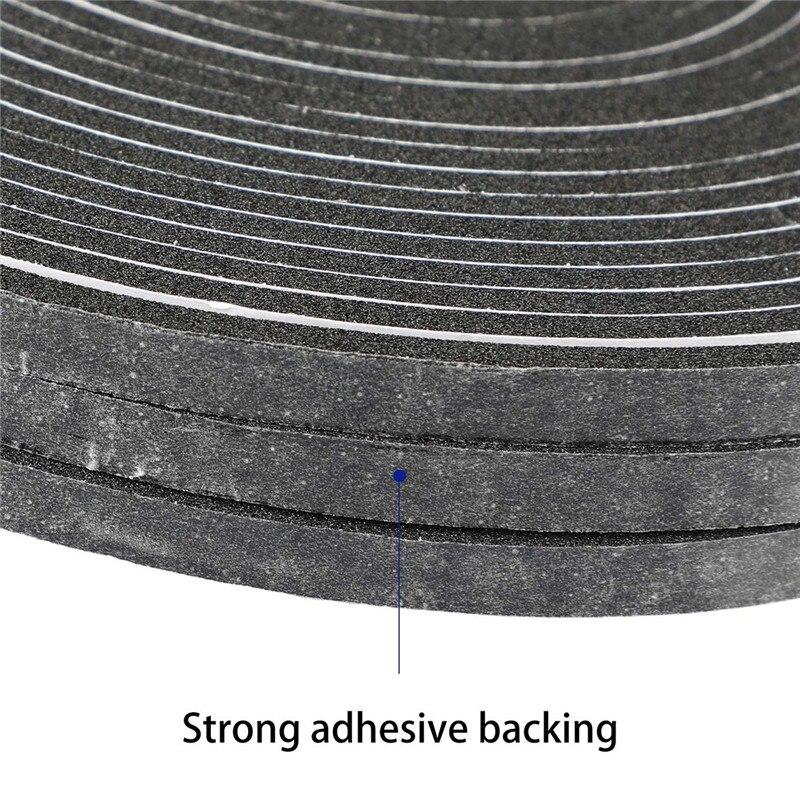 1 Rolls Sealing Strip High Density Foam Tape Waterproof Sealing Strip CR Strips Neoprene Single Sided Adhesive EVA Seal Gasket in Sealing Strips from Home Improvement