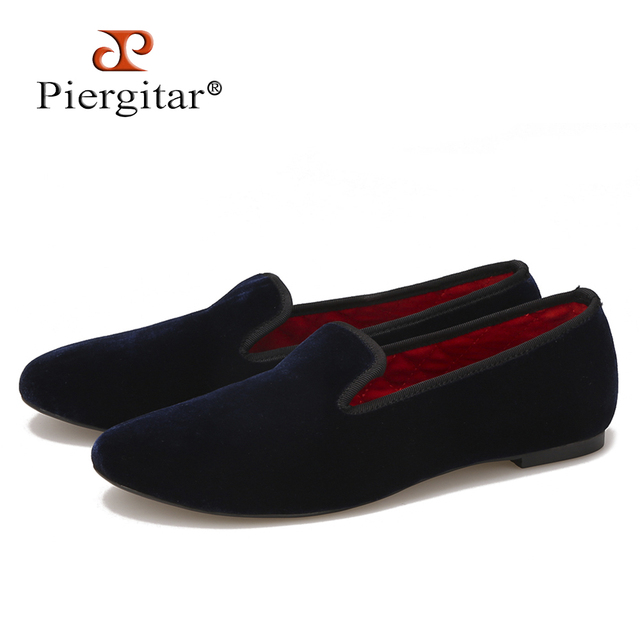 8c92c45f0f5 High quality women velvet shoes fashion handmade women loafers Britain  style smoking slipper women s flat size 5-11 free shiping