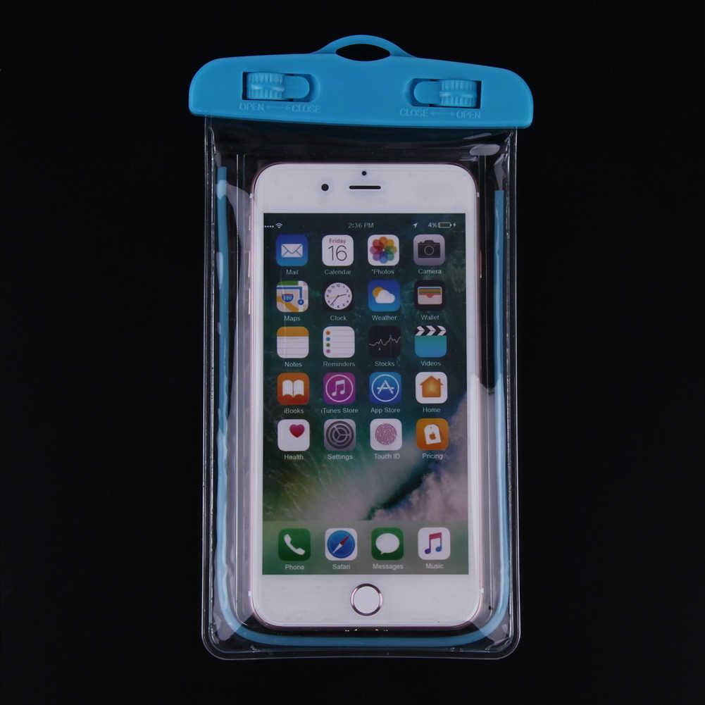 Caso para o Telefone à prova d' água Saco de PVC Sacos De Natação Subaquática Universal Todos Os Modelos de Caixa Do Telefone para Férias À Beira