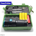 high power 25000 lumen King XM-L12*T6 LED flashlamp  LED Flashlight Camping,Hiking Hunting Work Lamp +18650 battery+charger+ box