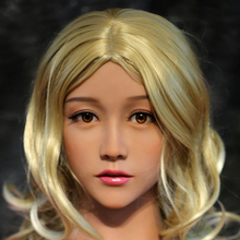 NEW WMDOLL  Top Quality Sex Doll Head For Real Adult Doll Tan