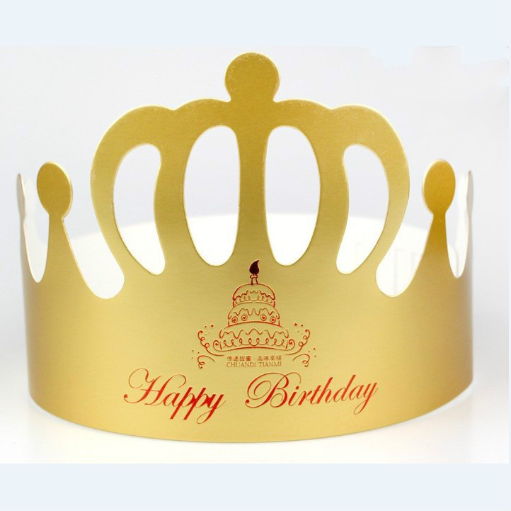 10pcs Gold Princess Crown Design Brithday Cake Cap Paper Vine Lace Cup Cake Wrappers Party Birthday Decoration ...