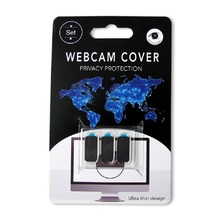 3PCS/ SET 3 IN 1 Ultra Thin Webcam Cover Pro Privacy Protection Shutter Sticker Cover Case for Smartphone Tablet Laptop Desktop