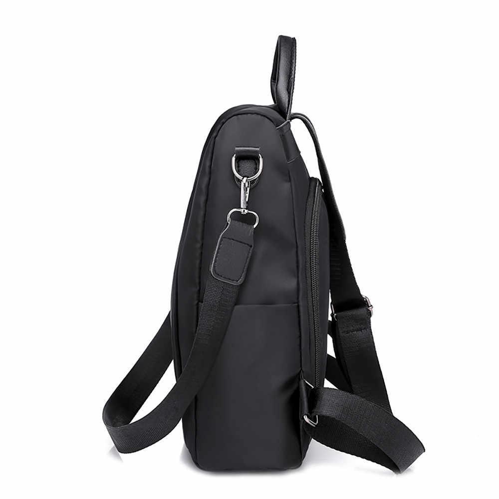 5 # Горячая Распродажа Женская дорожная сумка Противоугонная ткань Оксфорд рюкзак большой емкости повседневные Рюкзаки унисекс черные рюкзаки