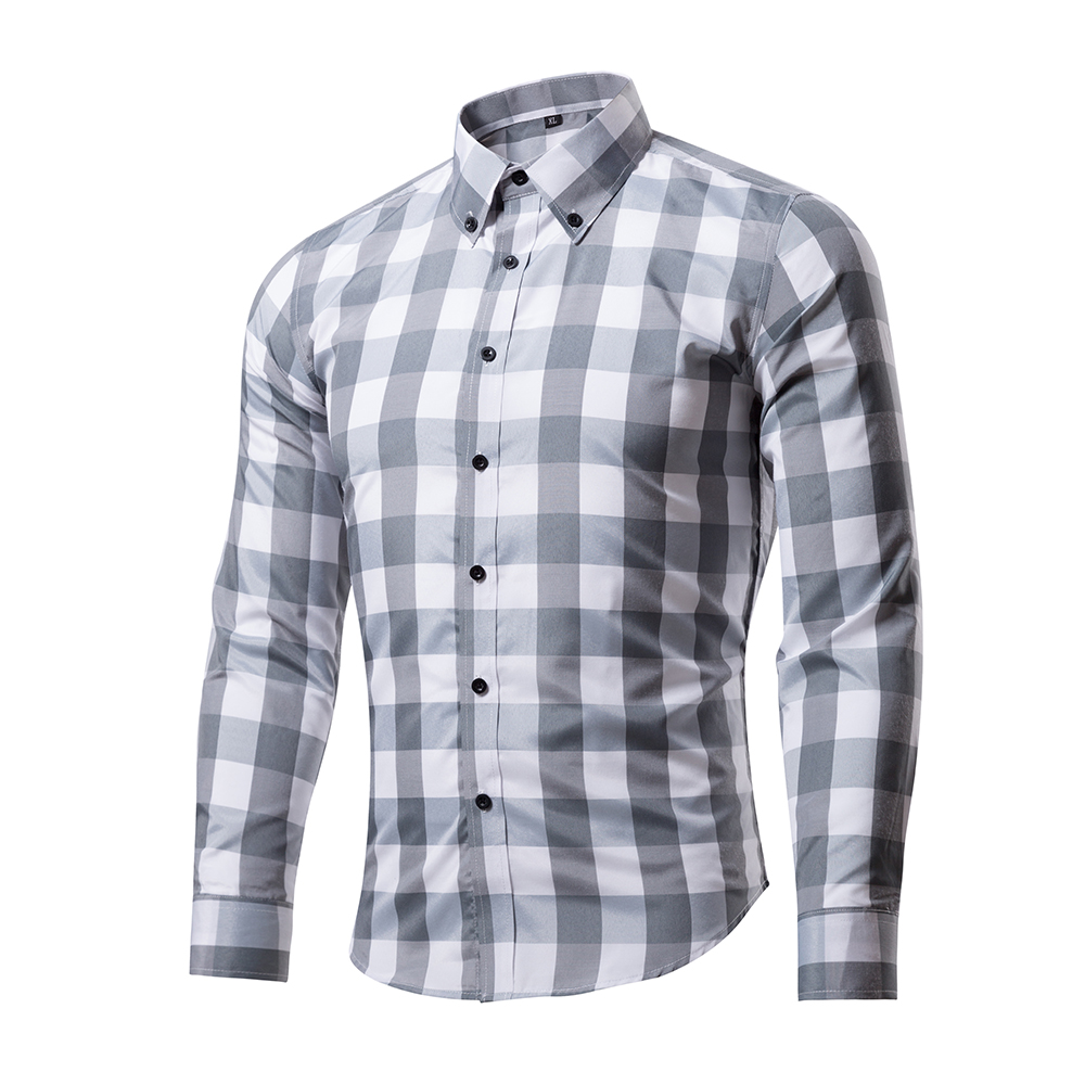 Online Get Cheap Mens Casual Long Sleeve Button Down Shirts ...