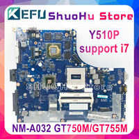 KEFU Y510P VIQY1 NM A032 REV: 1 0 Y510P laptop motherboard für Lenovo Y510P NM A032 GT750 Test motherboard-in Laptop-Hauptplatine aus Computer und Büro bei