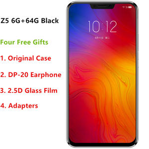 Original Lenovo Z5 L78011 6GB 64GB  Octa-core AI Dual Camera 2.5D Screen Snapdragon 636 ZUI 4.0 4G FDD LTE 6.2FHD+ 2246x1080
