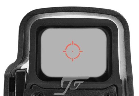 JJ Airsoft 55X 5X8 Qırmızı / Yaşıl Dot, QD Dağı (Qara) Biri Almaq Bir PULSUZ Killflash / öldürmək
