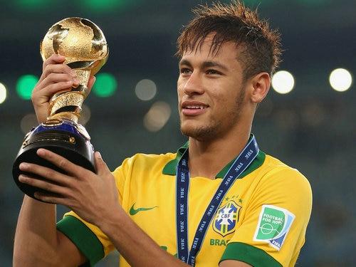 Neymar Silk Wall Poster Super Brazil Soccer Player Sport Star Home Room Decor 24x32 Gift