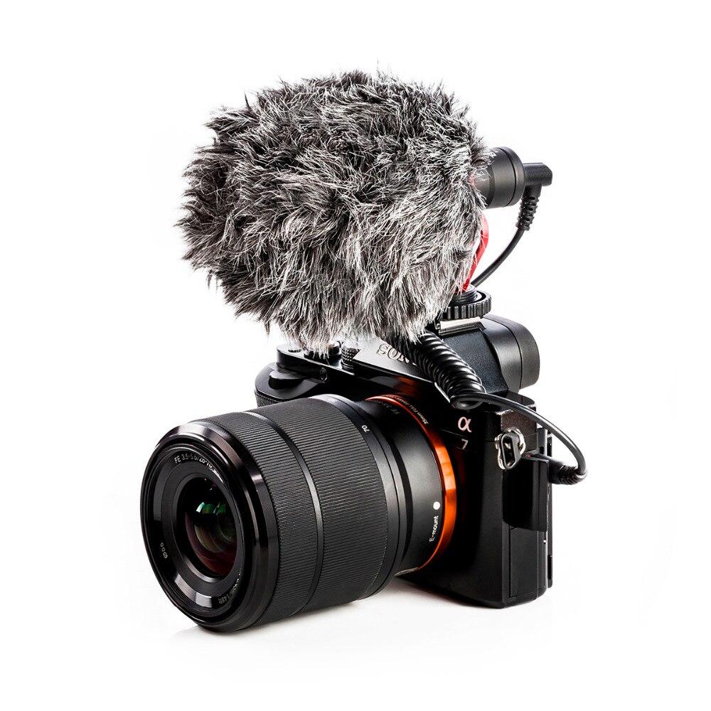 BOYA BY-MM1 cardioïde Microphone pour Smartphone DJI Osmo Nikon Canon DSLR Youtube Vlogging D'enregistrement 3.5 MM câble audio - 3