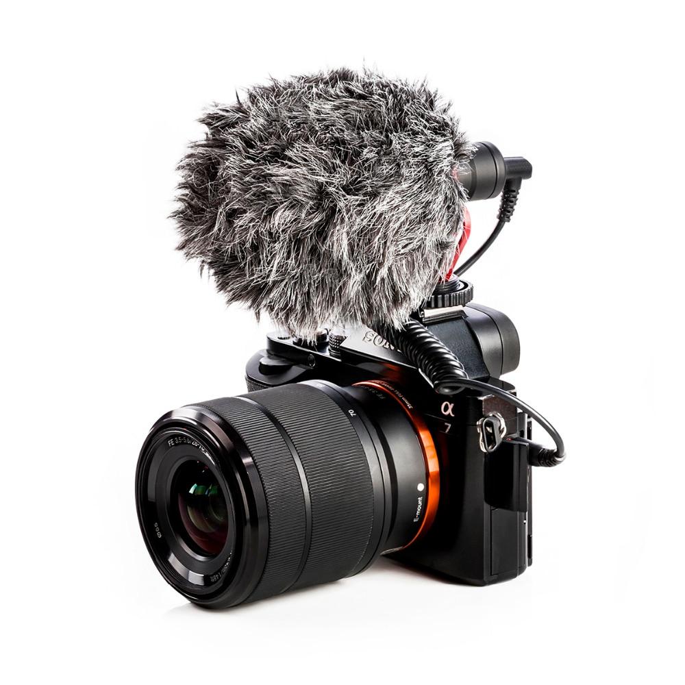BOYA BY-MM1 micrófono cardioide para Smartphone DJI Osmo Nikon Canon DSLR Youtube Vlogging de cable de audio de 3,5 MM - 3