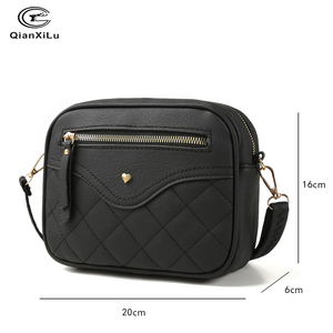 Image 5 - QIANXILU Fashion Crossbody Bags For Women 2019 High Capacity Shoulder Bag PU Leather Handbag Female Zipper Messenger Bags