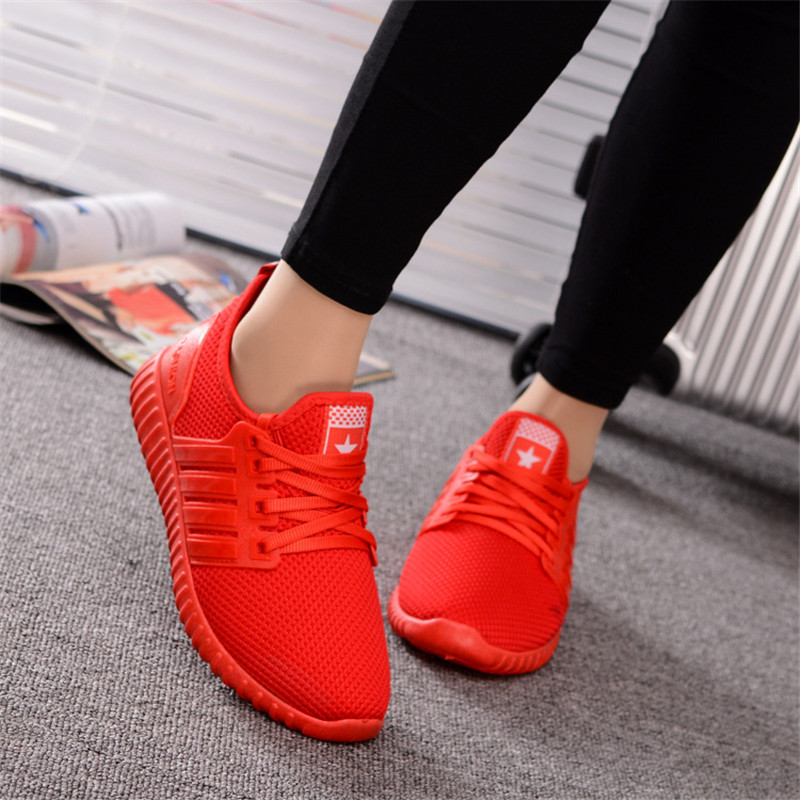 2017 Autumn and winter Flat Shoes Woman Comortable Casual Flats Outdoor Women's Shoes Leisure Hollow Breathable Women Shoes