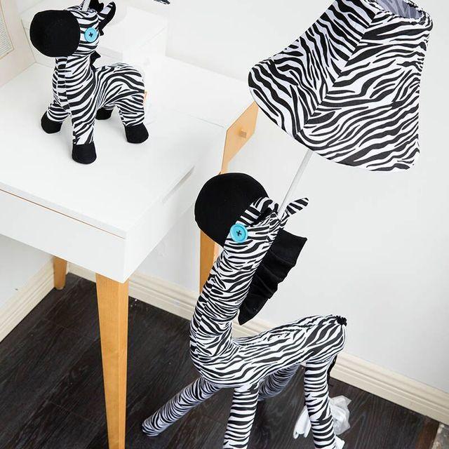 deco noel zebre
