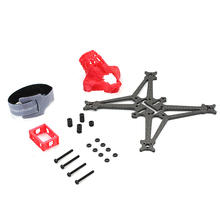Happymodel Sailfly-X FPV Racer Drone RC Quadcopter Frame Kit 105mm Wheelbase Rack Canopy Battery 3D Printed TPUHolder Accessory