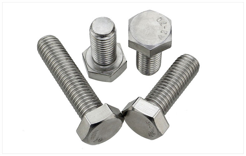 DIN933 304 stainless steel screws reverse thread left reverse screw M6 M8 M10 M12 screws left External hex screws din912 304 stainless steel screws hex socket screws reverse thread left left teeth m6 m8 m10 m12 screws twill cylindrical head