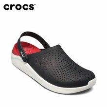 53355a4bc2a CROCS LiteRide zuecos nuevos deportes sandalias para hombres al aire libre  de las mujeres al aire