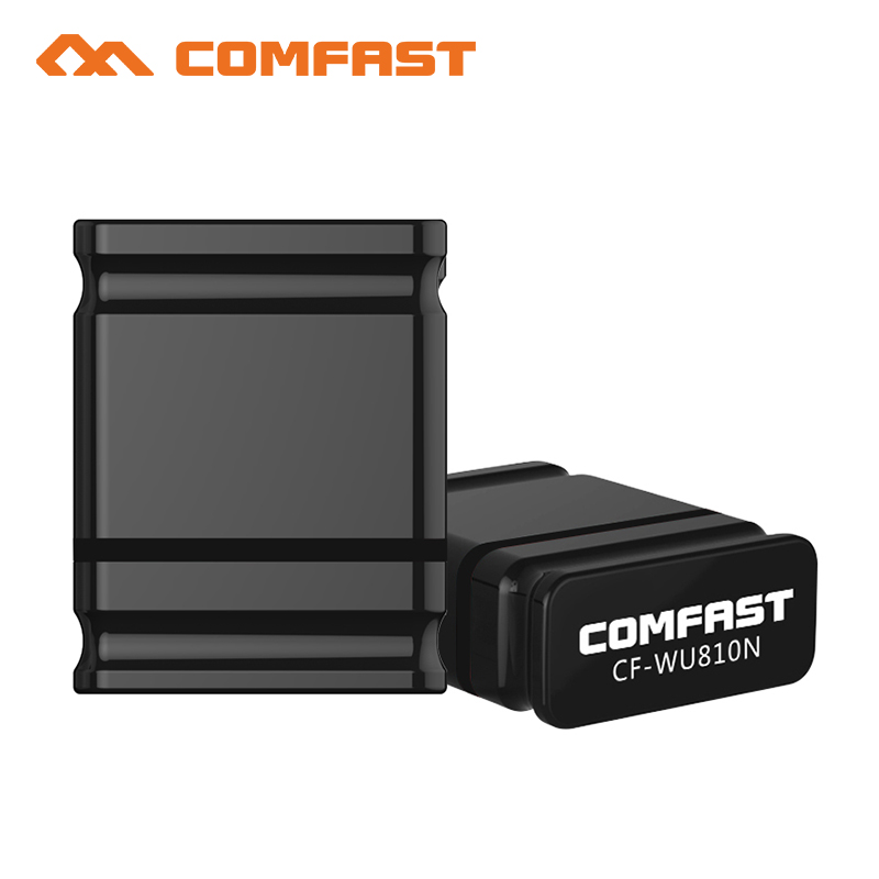 100pcs Comfast RTL 8188EUS USB Wifi Adapter 150Mbps Mini Wi-fi Dongle 2.4G Wireless PC LAN Network Card Wi Fi USB Receiver
