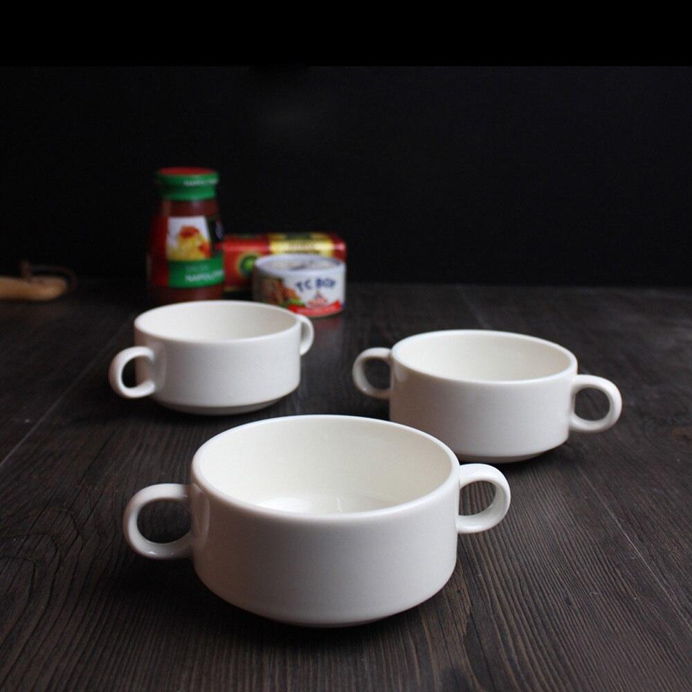 Online kopen Wholesale wit porselein soep kommen uit China wit ...