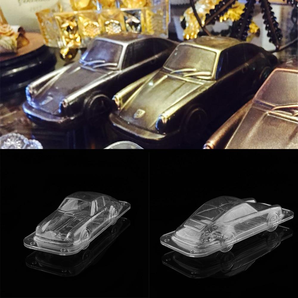Plastic Automobile Chocolate Mold 3d Diy Handmade Sport Car Cake