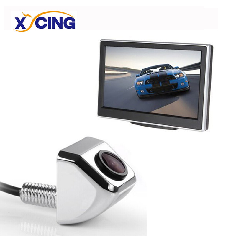 XYCING 800x480 5 zoll Auto Monitor Parkplatz Rück Nachtsicht Wasserdichte Auto Rückansicht Kamera Reverse Backup Kamera e366