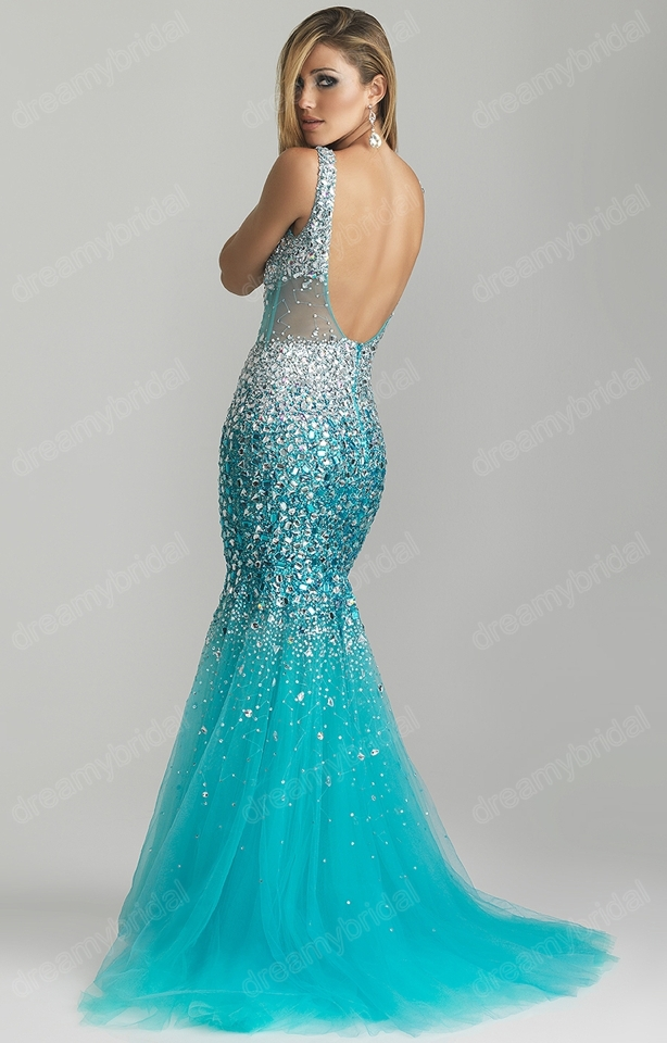 2013 exquisite mermaid prom dresses turquoise rhinestone luxury free shipping vintage classic mermaid white applique backless wedding dresses 2013 new design bridal gowns custom made gh001usd 29699piece junglespirit Gallery