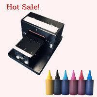 1 Set A3 Flatbed Printer A3 Size For T SHIRTS Printing Phone Case PVC Cards Ceramics