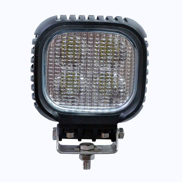 "1pcs L LED8402 4.5"" 40W LED Work Working Light Lamp Bulb Off-Road 4WD 12v 24v Truck SUV ATV Spot Flood auto products Lantsun"