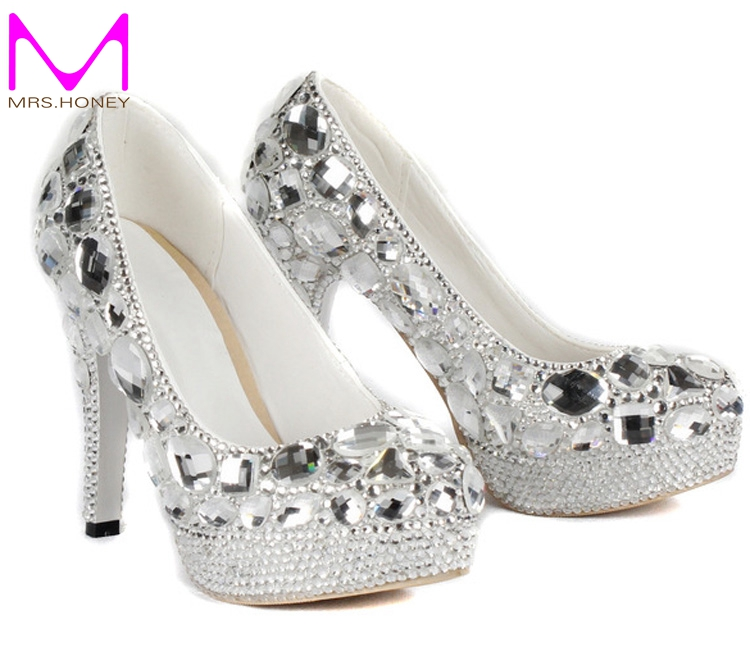 Compare Prices on Silver Evening Heels- Online Shopping/Buy Low