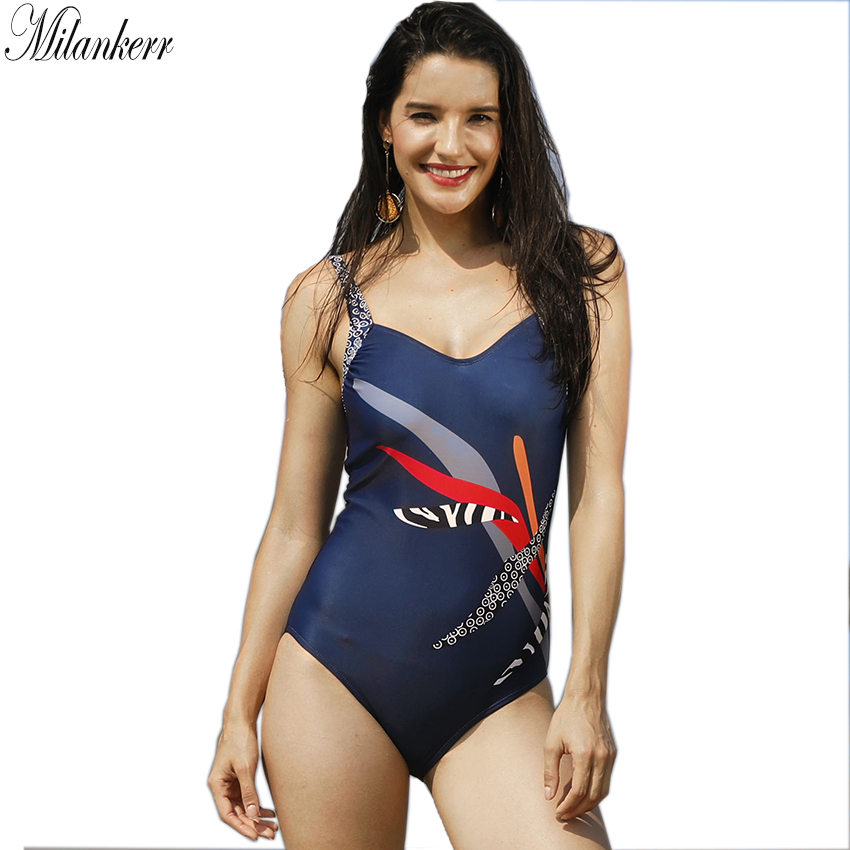 Stripes Patchwork One Piece Swimsuit for Women Retro Printed Sports Swimwear Female Monokini Hot Beach Bathing Suit Spring Suit