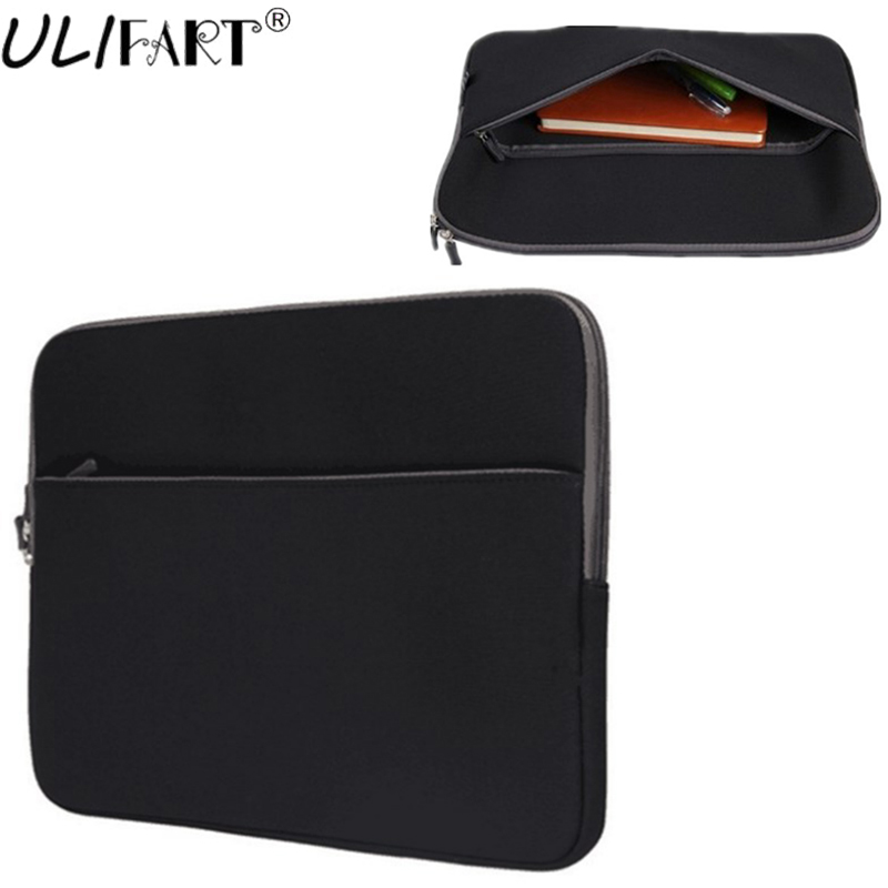 ULIFART 10 inch Tablet Sleeve 8.9 ~ 10.1 inch Ultra-Portable Neoprene Zipper Carrying Sleeve Case Bag with Accessory Pocket