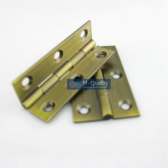 Free Bronze Screws 10PCS/Lot Antique Bronze Type Door Hinge 2.5 Inch (65MM)