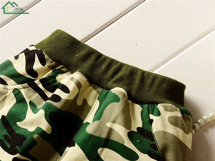 long sleeve camouflage kids clothes set23