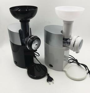 Image 5 - 220V 고품질 자동 과일 디저트 기계 전기 아이스크림 밀크 쉐이크 메이커 EU/AU/UK/US