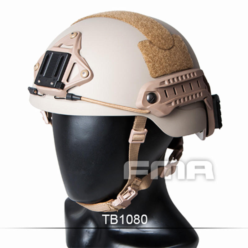 цены TB-FMA Airsoft Sports Helmets Sentry Helmet Paintball Combat Tactical (XP) DE for Hunting AirsoftSports 2017 New Free Shipping