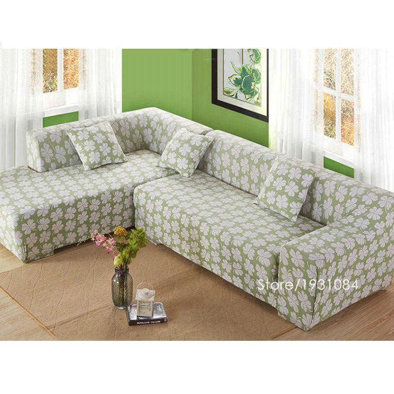 Flower Tight Elastic Sofa Cover Slipcover Fundas De Sofas