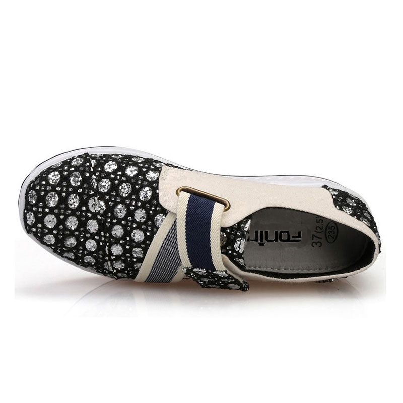 Ademende Casual schoenen Dames Shape Ups Shake Rocker Schoenen - Damesschoenen - Foto 2