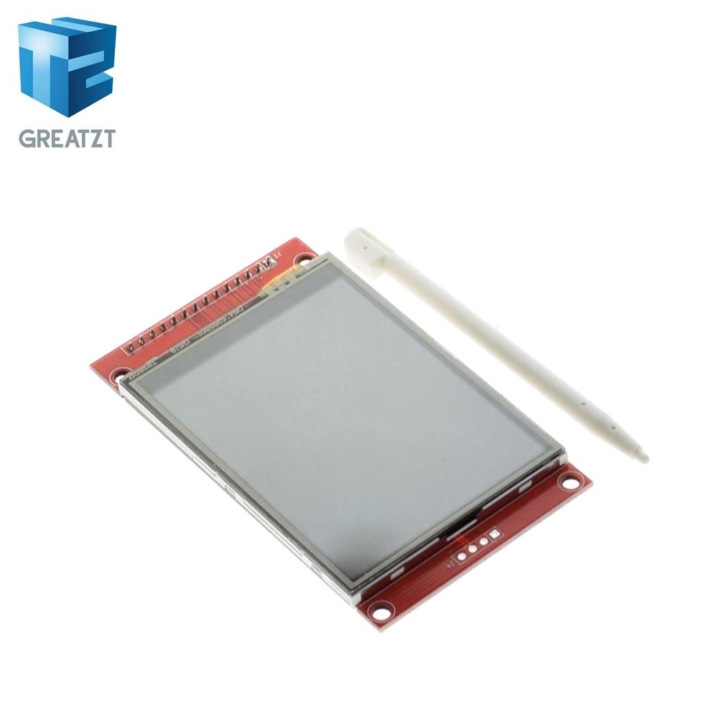 TZT 1 pcs J34 F85 240x320 2.8 SPI TFT LCD Tactile Panneau Port Série Module avec PCB ILI9341 5 v/3.3 v 2.8 TFT Avec touch Pen Cadeau