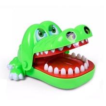 Mainan pendidikan lelucon mainan lucu Buaya Mainan Anjing Hapus Menarik Gigi Permainan Bite Finger Toys