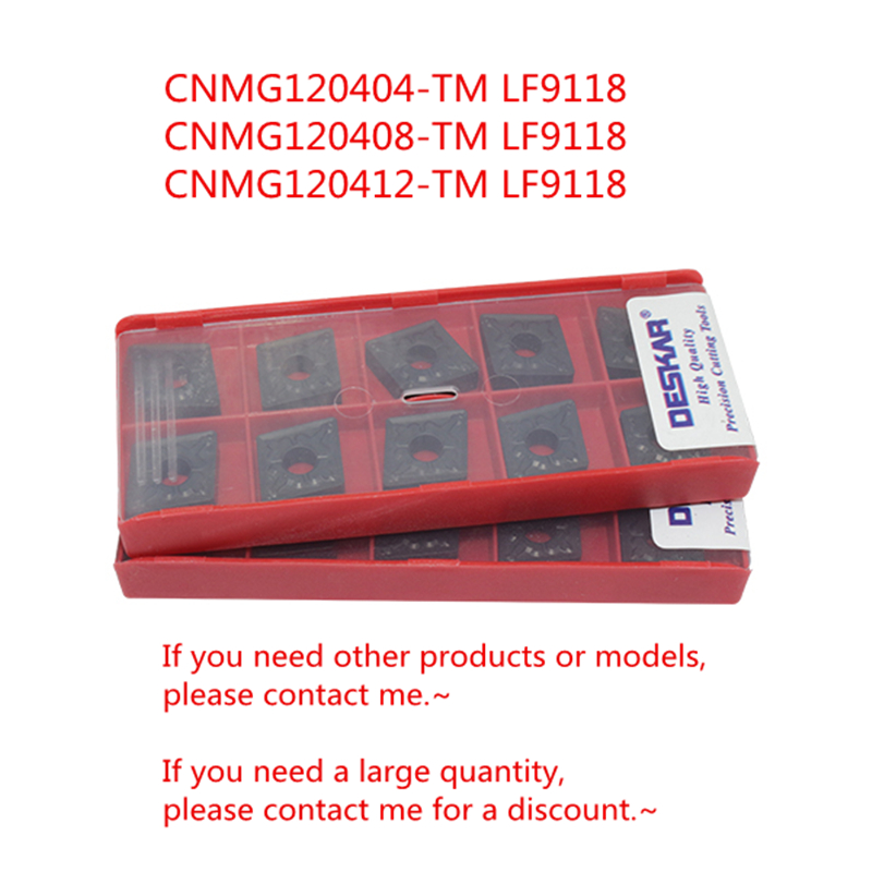 10P TNMG332// TNMG160408-MQ LF6018 CNC Lathe Carbide Insert For stainless steel