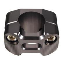 1 par 28mm Universal Motos Handle Bar Riser De Montagem Adaptadores Clamp Montagens Guiador Riser Grampo Molduras de Alta Qualidade Novo