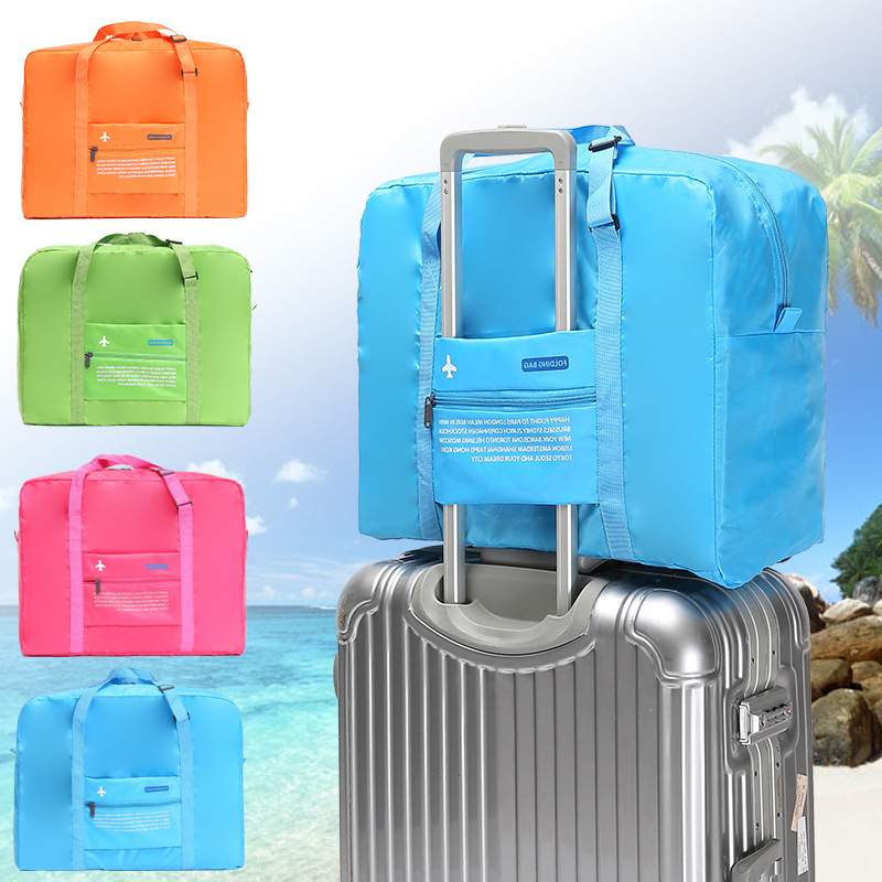 Large Folding Travel Bags Luggage Nylon Foldable Travel Duffle Weekend Big Bag Set Weekender For Women And Men Bolsa Viagem