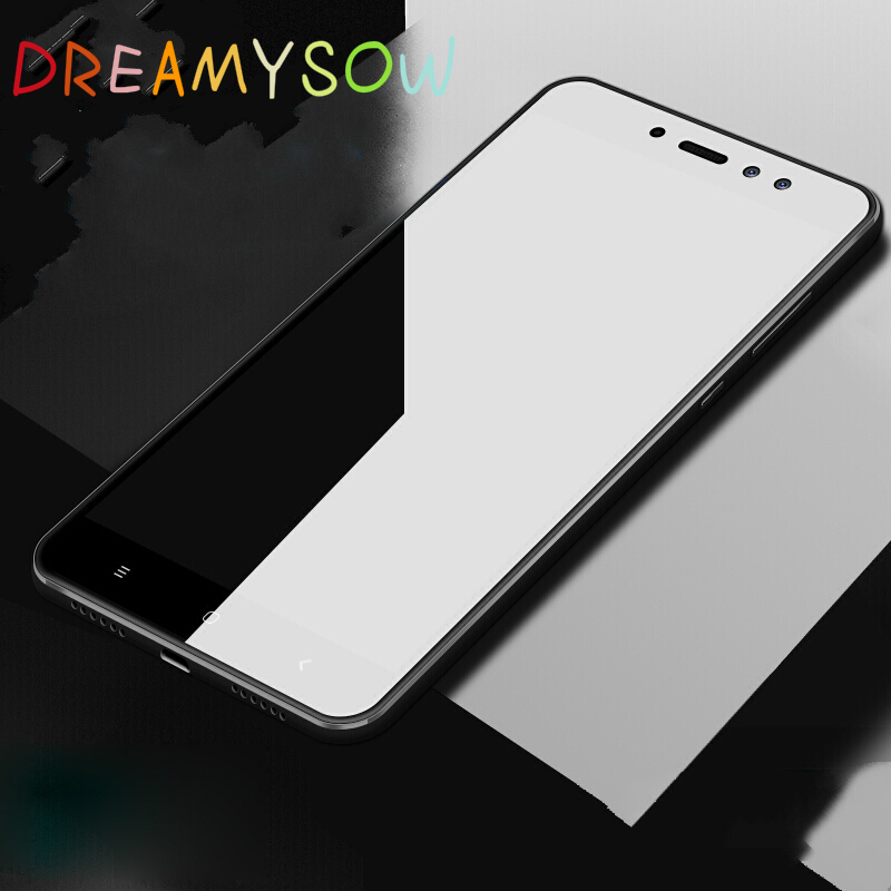2.5D HD Full Cover Tempered Glass Film For Xiaomi Redmi 4A 4Pro 4X Note4X 5 5A Note 2 4 High Quality Screen Protector New