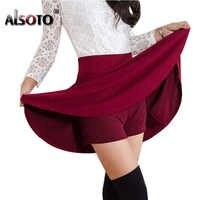 2018 todos Tutu escuela falda Falda corta para las mujeres de seguridad de verano plisado Faldas cortas Faldas vestido coreano mini saia gratis