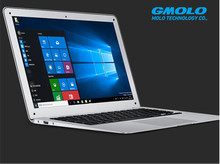 "GMOLO brand 14"" 8GB RAM  500GB HDD 64GB SSD ultra thin laptop computer HD screen J1900 quad core WIFI Windows 8 notebook"