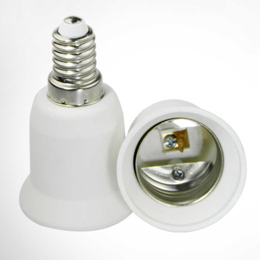 E14 to E27 High Quality LED Adapter Lamp Holder Converter Socket Light Bulb Lamp Holder Adapter Plug Extender Led Light
