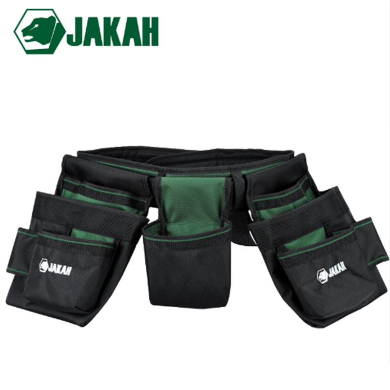 JAKAH Multifunction Tool Bag 1680D Double Layers Oxford Fabric Repair Bags Waist Pack Bag For Electrician