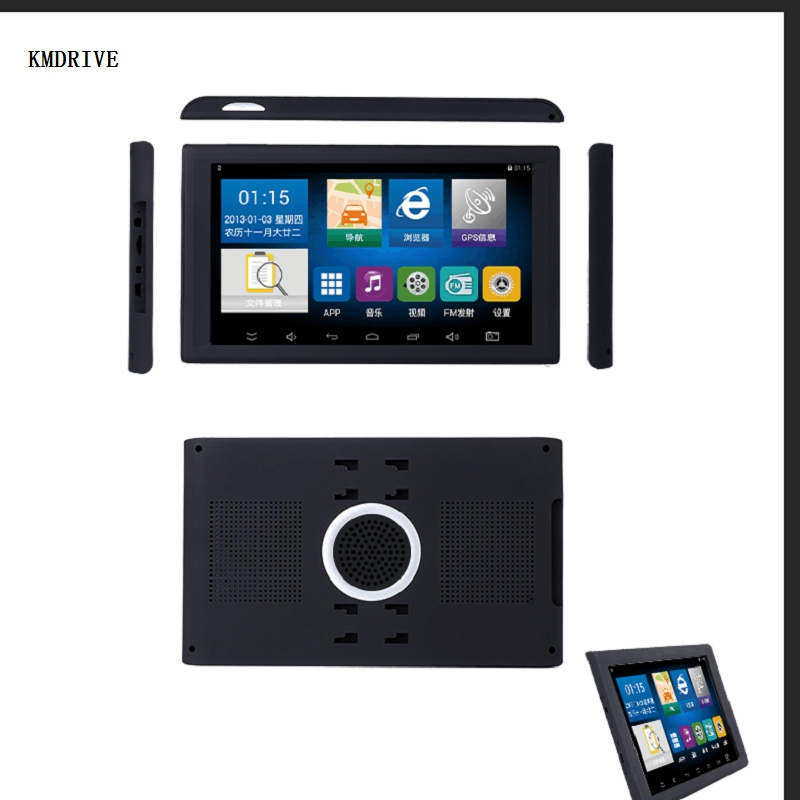 9 Inch Car Truck GPS Tablet Navigation System AV-IN Support Reversing Camera 16GB  With Free Maps