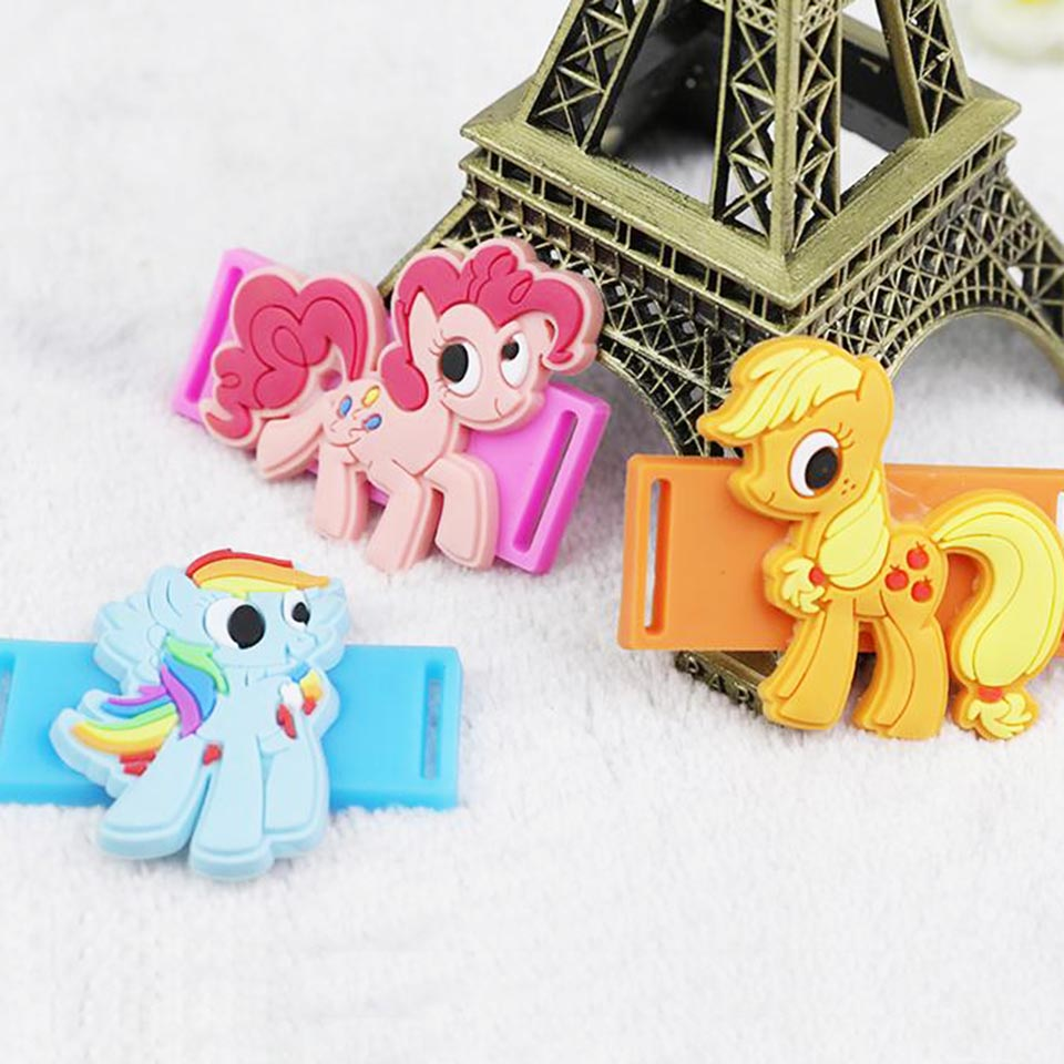 5693b341ce3ae6 Aliexpress.com   Buy Tronzo 6pcs Unicorn Party Shoes Lace Buckle Unicorn  Decorations Kids Cute Rainbow Plastic Shoes Lace Buckle Birthday Supplies  from ...