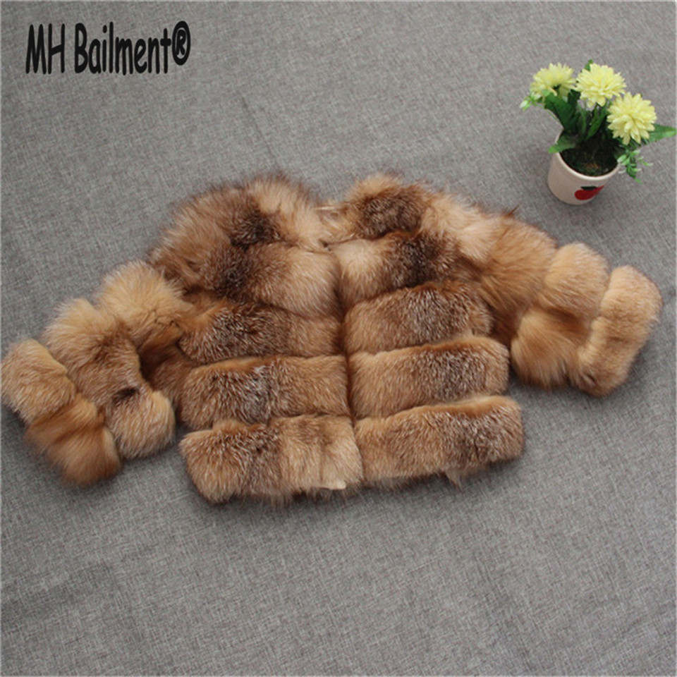 2017 Children Real Crystal Fox Fur Coat New Autumn Winter Girls Boys Natural Fur Coat Clothing Warm Kids Thicken  Jacket C#12 5 colors 2017 new long fur coat parka winter jacket women corduroy big real raccoon fur collar warm natural fox fur liner